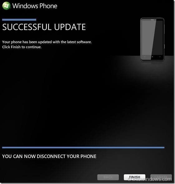 How To Update Your Windows Phone 7 Software Step 13