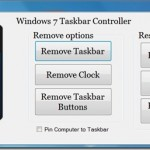 Windows 7 Taskbar Controller