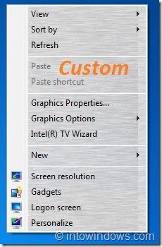 Custom Background In Desktop Context Menu