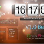 Horlonger: Another Gorgeous Clock For Vista And Windows 7 Desktop