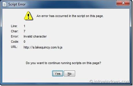 RT Seven Lite Script Error