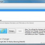 W7 Superbar Icon Changer: Replace Windows 7 Taskbar Icons