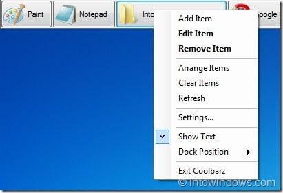 Get Back XP/Vista Desktop Toolbar (Dock) In Windows 7