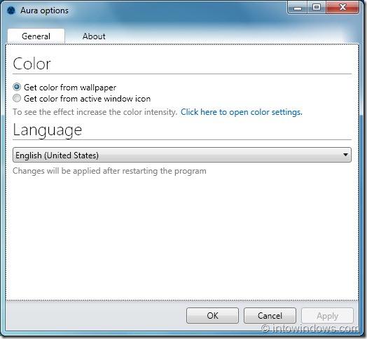 Enable Aero Auto-Colorization In Windows 7