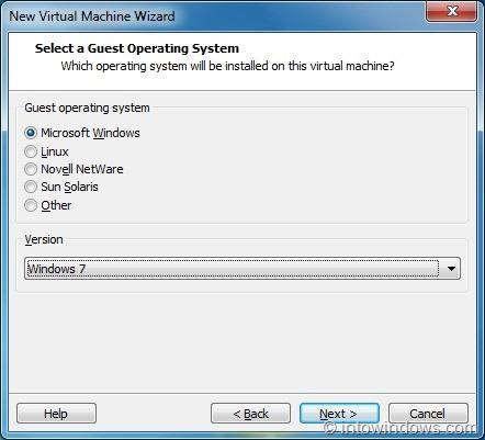Install Windows 8 On VMware