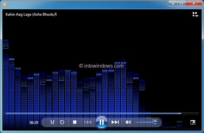 how to change audio language in windows media player 12