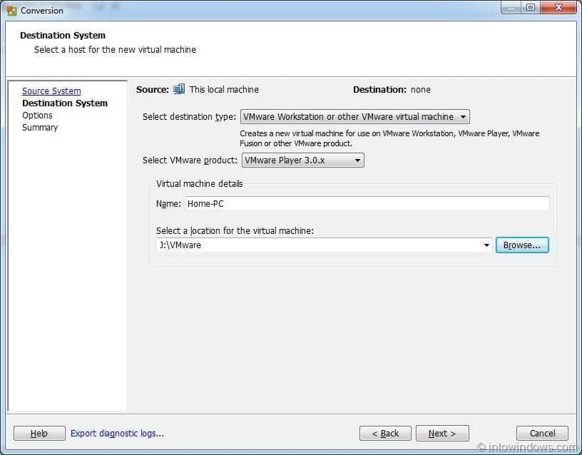 Vmware Vcenter Converter Convert Physical Machines To Vmware
