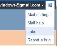Gmail options