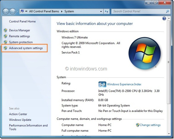 How To Hide or Skip Boot Manager In Vista and Windows 7 Step 2