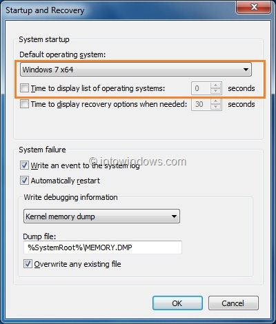How To Skip Or Hide Windows Boot Manager In Vista And Windows 7