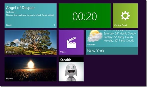 Mosaic Gadgets for Windows 7 Desktop