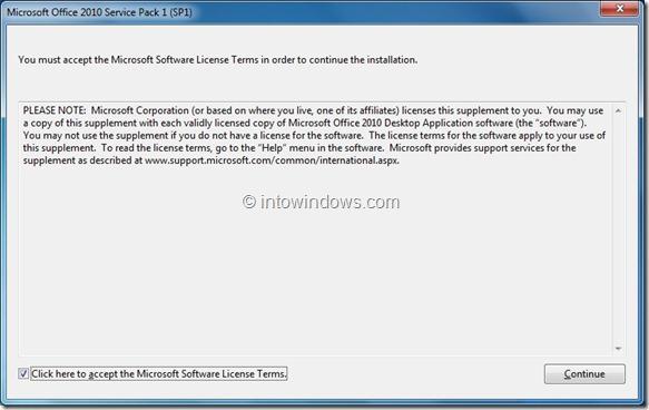Slipstream Office 2010 Service Pack 1 Step32