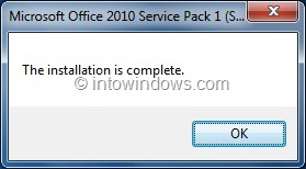 ms office 2010 service pack 1