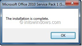 Slipstream Office 2010 Service Pack 1 Step34