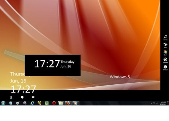 Windows 8 Menu for Windows 7