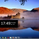 Windows8Menu: Get The New Windows 8 Side Menu And Swipeable Lock Screen Feature In Windows 7