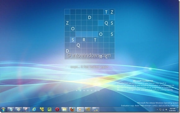 Windows 8 Watermark On Windows 7 Desktop