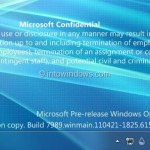 Get Windows 8 Build 7989 Watermark On Your Windows 7 Desktop