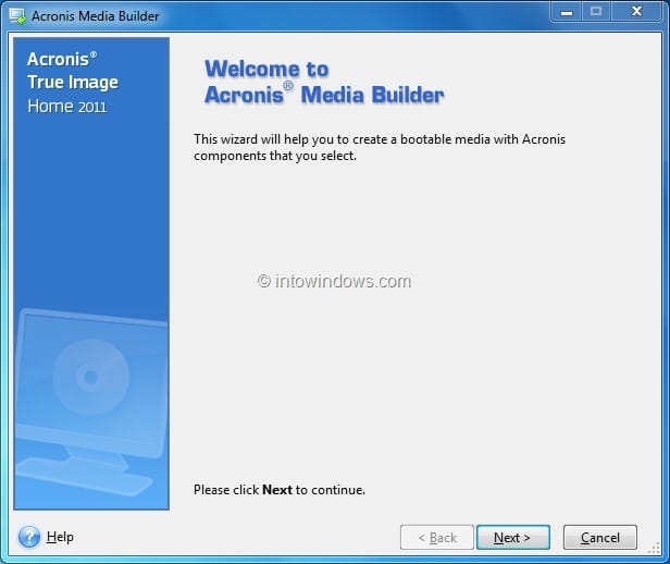 acronis usb boot iso download