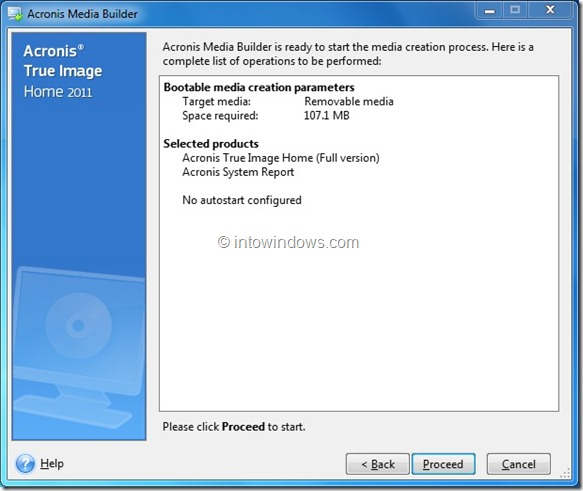 Boot Acronis True Image from USB Flash Drive Step6