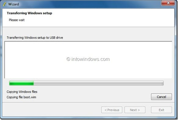 Create Windows 8 Bootable USB Flash Drive step4