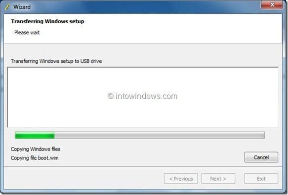 Create Windows 8 Bootable USB Flash Drive step4