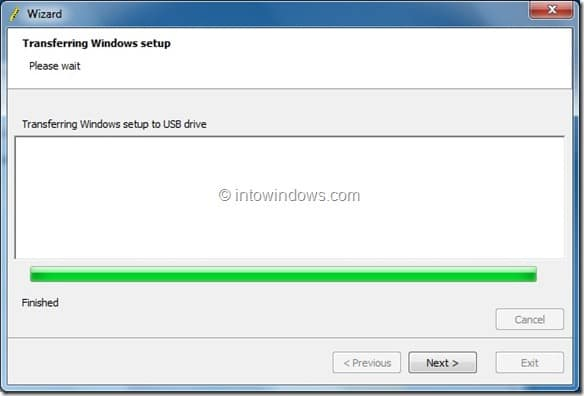 Create Windows 8 Bootable USB Flash Drive step5