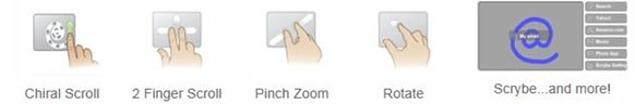 Get Mac OS X Lion Multi-Touch Gestures In Windows 7 And Vista