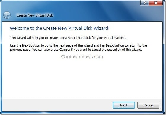 Install Windows 8 On VirtualBox Virtual Machine Step6