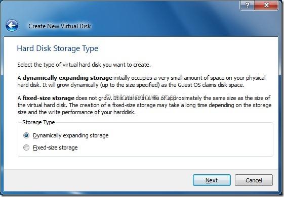 Install Windows 8 On VirtualBox Virtual Machine Step7