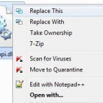 Right-Click ReplaceThis: Replace Files In Windows 7 With A Click