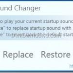 Startup Sound Changer: Change Windows 7 Startup Sound