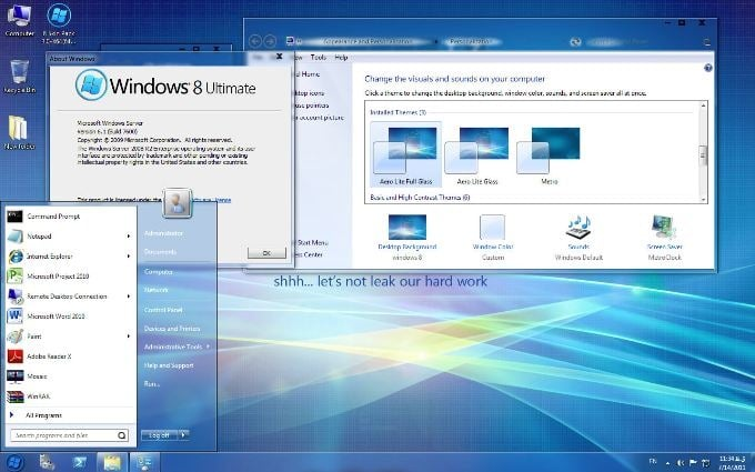 windows 7 to windows 8