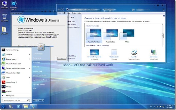 Transform Windows 7 into Windows 8