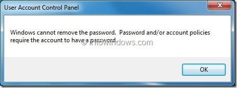 Change Admin Password