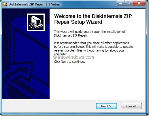 Open Incompletely downloaded zip file