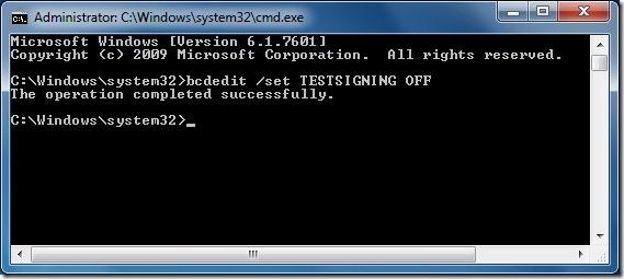 Remove Test Mode Watermark From Windows 7 Desktop Step 2