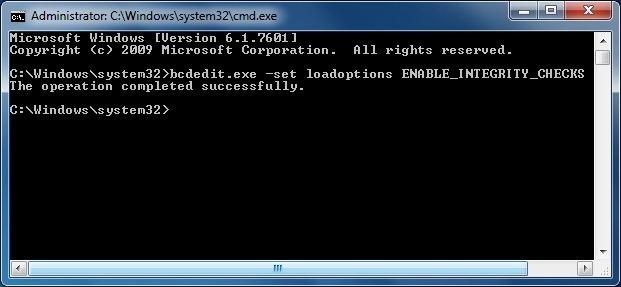 key for windows 7 build 7601