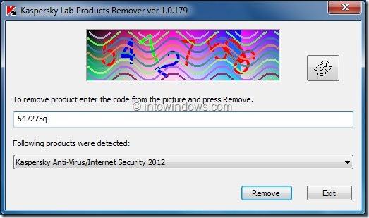 Uninstall Kaspersky Antivirus 2012 From PC