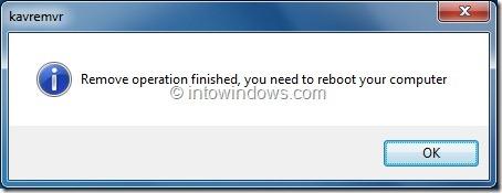 Uninstall Kaspersky Antivirus 2012 In Windows 7