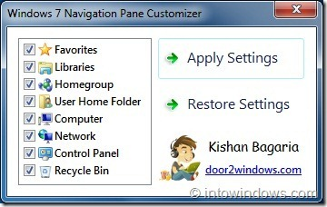 Windows-7-Navigation-Pane-Customizer