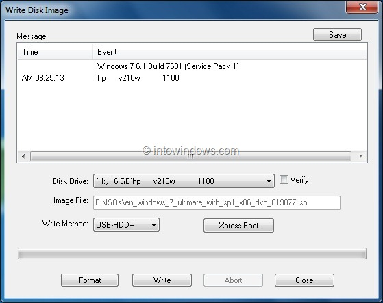 How To Use UltraISO Software To Create Bootable USB Flash ...