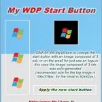 Change Windows 8 Metro Start Button With My WDP Start Button