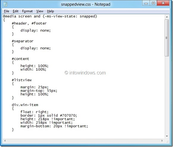 Edit And Modify Metro Apps In Windows 8 Step 9