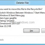 How To Enable Delete Confirmation Dialog In Windows 10/8.1