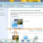 Bug In Windows 8 Helps You Enable Transparent Glass Taskbar