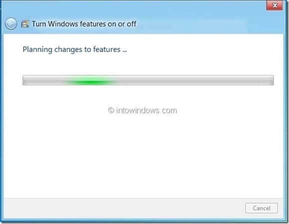Enable Hyper-V In Windows 8 Step3