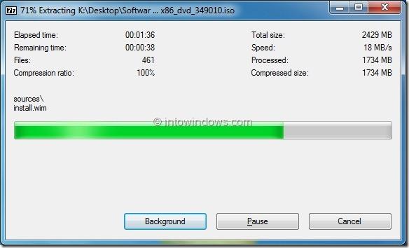 Install Windows 8 From External Hard Drive Step4