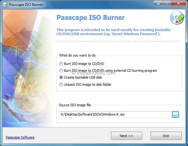 win 8 iso to usb bootable