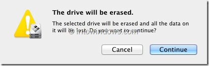 Install Windows 8 On Mac Step 4